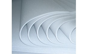 Foam Rubber 5 mm,  weight 25 g/m3, size 1200x2000mm. Price per piece VAT incl. Free shipping