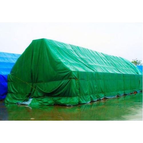 Tents, blīvums 70 g/m², izmērs 14x18 m, polipropilēns. Krāsa: zaļa