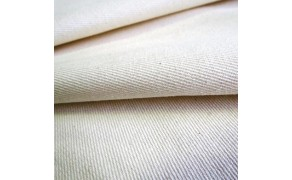 Cotton Fabric, weight 590g/m², width 100cm, unbleached. Free shipping