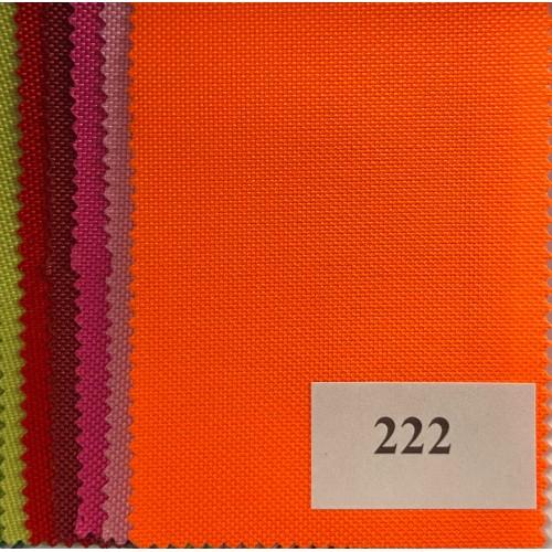 Oxford Fabric, weight 200g/m², width 160cm, bright orange. Polyester PU. Free shipping!