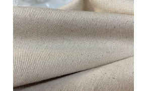 Cotton Fabric, weight 300g/m², width 160cm, unbleached. Free shipping!