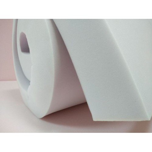 Foam Rubber 100 mm, weight 35 g/m3, size 1200x2000mm. Price per piece VAT incl. Free shipping