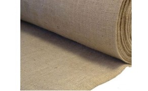 Jute Fabric. Weight 305g/m². Width 100cm. Price per roll 50m, 21% VAT incl. Free shipping!