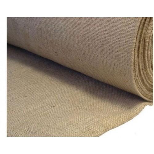 Jute Fabric. Weight 305g/m². Width 100cm. Price per roll 50m, 21% VAT incl. Free shipping!