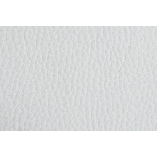 PVC Leather, Budget+, width 145cm, weight 450g/m², White. Free shipping!