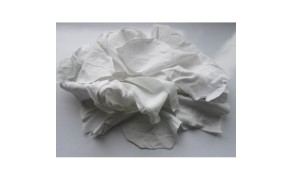 White Bedsheet Wiping Rags, BP (10 kg). 100% cotton, white thin fabric. Price per piece (10 kg)   21% VAT incl.