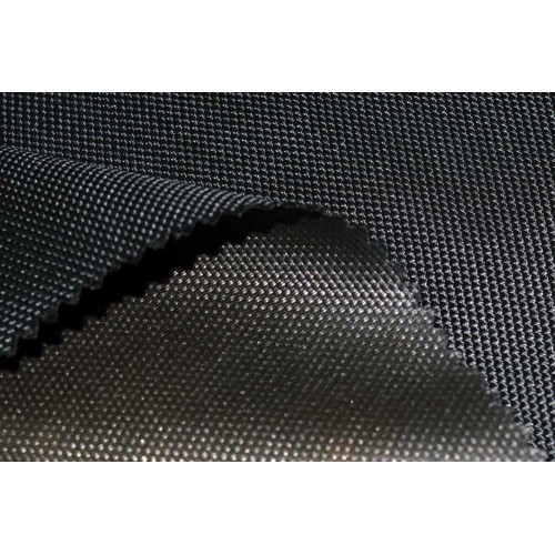 Oxford Fabric, weight 200g/m², width 160cm, BLACK. Polyester PU. Free shipping!