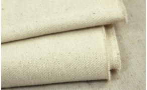Cotton Fabric, weight 930g/m², width 110cm, unbleached. Price per m², VAT incl. Free shipping