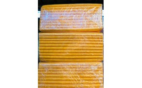 Nonwoven Multipurpose Viscose (10mx10pcs) orange.  Weight 160g/m². Width 50cm. Price per piece (100m) 21% VAT incl. Free shipping!