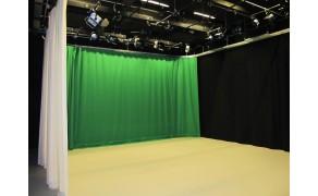 Stage Molton- Green, 300 g/m2, 300 cm