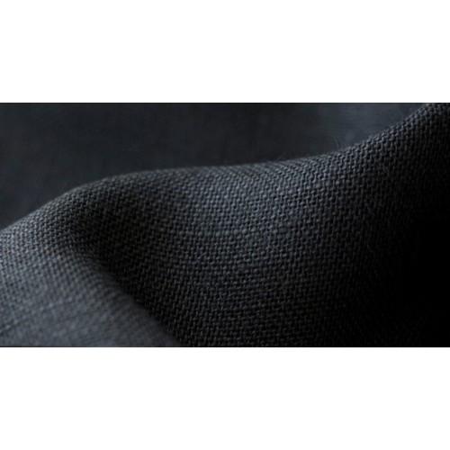 Džutas audums krāsots- melns. Pl.145cm, bl.280g/m². Bezmaksas piegāde