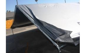 Tarpaulin 4x6m, weight 110 g/m². Price per piece, VAT incl. Free shipping