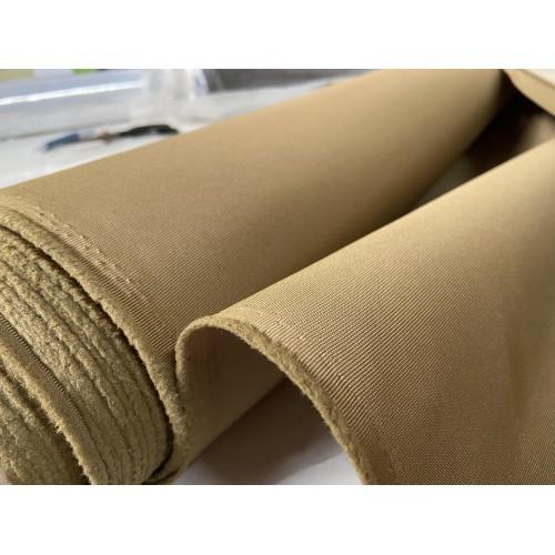 KONDOR Fabric, weight 287g/m², width 150cm, dark beige colour. Price per meter, 21% VAT incl.