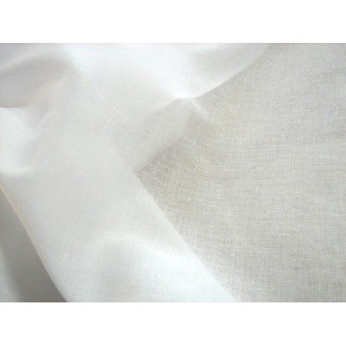 Cotton Bed Sheet Fabric, weight 120 g/m², width 150 cm, bleached. Free shipping!