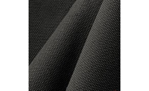 Water-repellent Fabric Canvas. 100% cotton. Weight 400g/m². Width 150cm. Black. Free shipping!