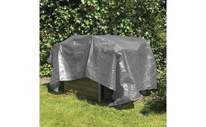 Tarpaulin 3x5m, weight 110 g/m². Price per piece, VAT incl. Free shipping