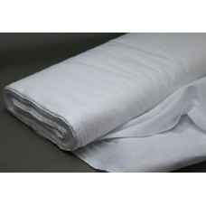 Cotton Bed Sheet Fabric, weight 145 g/m², width 220 cm, bleached. Price per roll 55m, VAT incl.