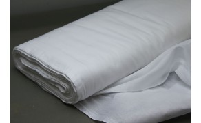 Cotton Bed Sheet Fabric, weight 145 g/m², width 220 cm, bleached. Free shipping!