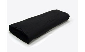 Cotton Bed Sheet Fabric, weight 145 g/m², width 150 cm, black. Free shipping!
