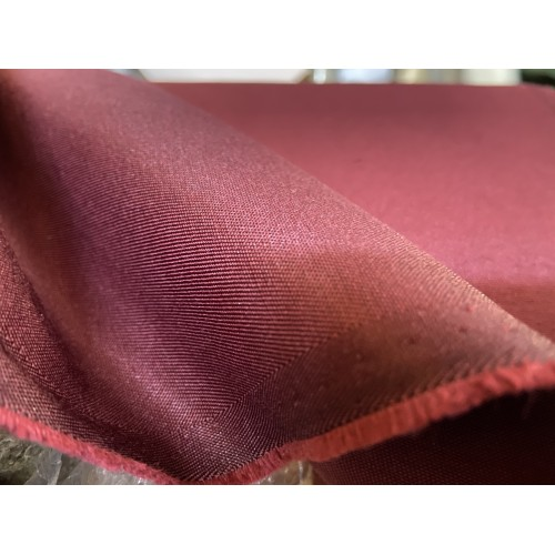 Waterproof Fabric 03C, Bordeaux. Weight 234g/m², width 150cm. Cotton 54%, polyester 46%. Free delivery!