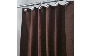 Waffle Cloth 100% cotton, weight 230 g/m², width 80 cm, brown. Free shipping