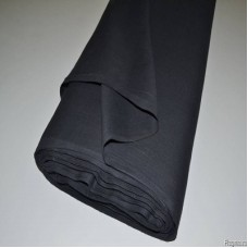 Cotton Bed Sheet Fabric, weight 145 g/m², width 150 cm, black. Price per roll 100m, VAT incl.