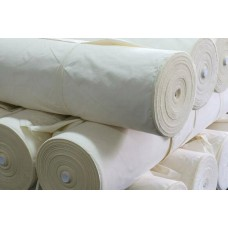 Cotton Fabric, weight 140g/m², width 165cm, unbleached. Price per roll 100m, VAT incl.