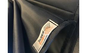 Kodura Fabric 1680D PVC-F, double flat, weight 600g/m², width 145cm, colour graphite. Free shipping!