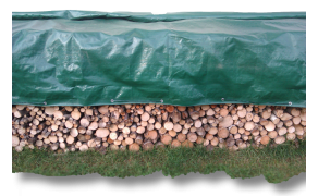 Tarpaulin 4x5m, weight 70 g/m². Price per piece VAT incl. Free shipping