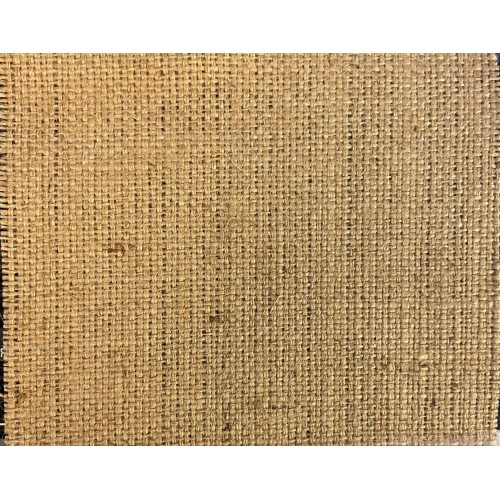 Jute Fabric, weight 520g/m², width 105cm. Price per roll 50m, VAT incl.