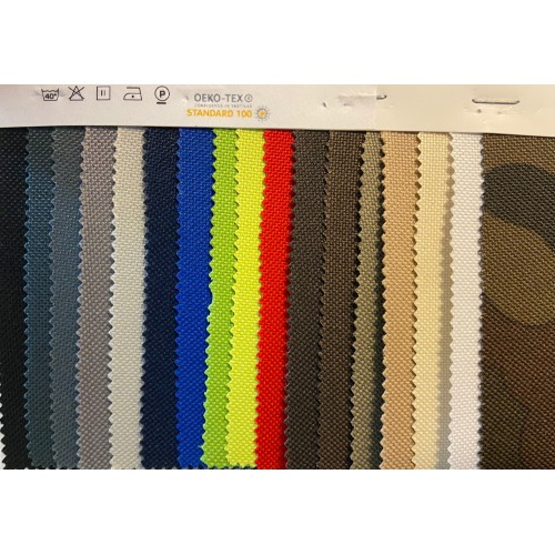 Kodura Fabric, 600Dx300D PVC, Black, weight 350g/m², width 150cm. Price per roll 50m, VAT incl.
