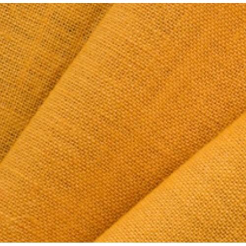 Jute Fabric, N°55, OCHRE. Weight: 280 g/m². Width: 145 cm. Free shipping!