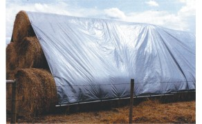 Tarpaulin 6x8m, weight 110 g/m². Price per piece, VAT incl. Free shipping