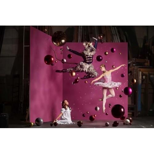 Stage Molton- Bordeaux, 300 g/m2, 300 cm