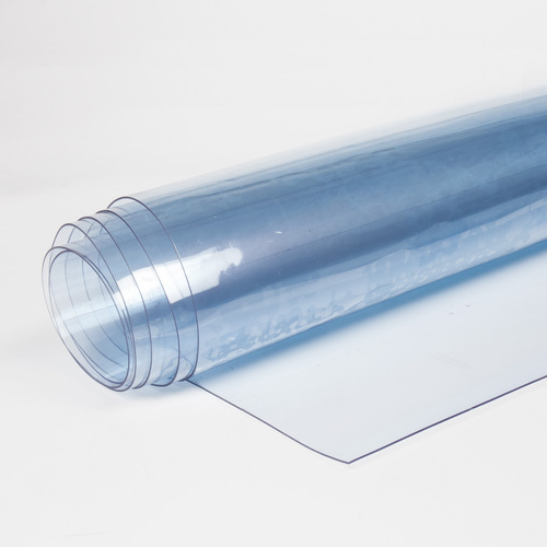 Transparent PVC Film 0.5 mm, weight 625g/m², width 140cm. Price per m2 VAT incl. Free shipping!
