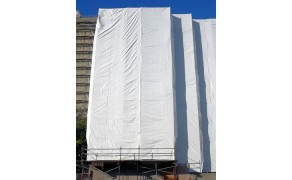 Tarpaulin 8x12m, weight 175 g/m². Price per piece VAT incl. Free shipping!