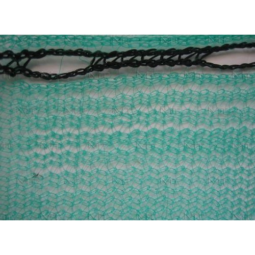 Construction safety net, width 307cm, weight 50g/m². Price per roll 50m, VAT incl.