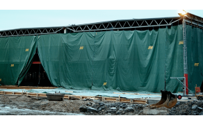 Tarpaulin 5x8m, weight 70 g/m². Price per piece VAT incl. Free shipping