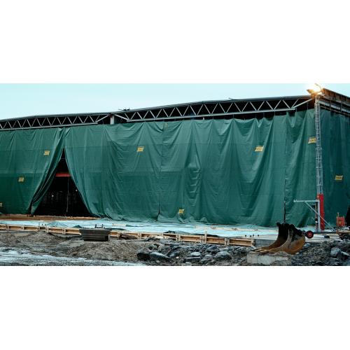 Tents 5x8m, bl.70 g/m². Cena norādīta ar PVN par gab. Bezmaksas piegāde