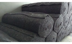 Non woven fabric, Batting half-woolen, weight 350 g/m² , width 170cm. 40% wool; 60% synthetics. Price per roll 30m, VAT incl.