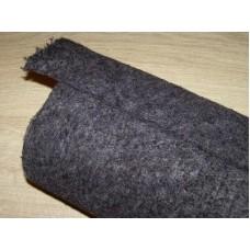 Felt 5 mm, weight 630g/m², width 150cm. 30% wool; 70% polyester. Roll 30m². Price per roll VAT incl.