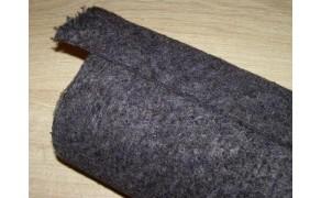 Felt 5 mm, weight 630g/m², width 150cm. 30% wool; 70% polyester. Price per m², VAT incl. Free shipping!