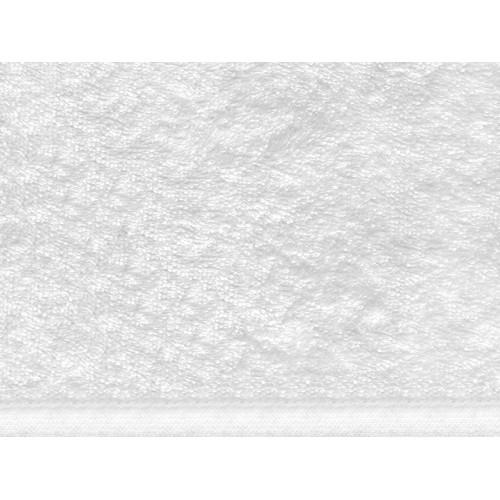 Frotē audums 100% kokvilna, blīvums 360 g/m², platums 150 cm, baltā krāsā