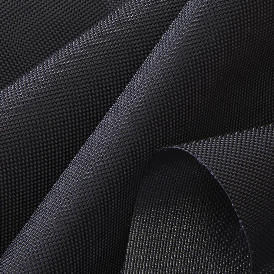 Kodura Fabric, 1680D PVC-F, double flat, black