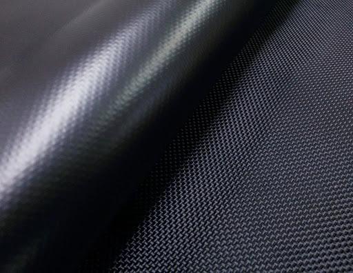 Audums Kodura 1680D PVC-F, bl.600g/m², pl.145cm, melnā krāsā. Bezmaksas piegāde!