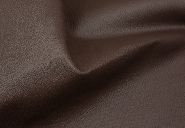 PU Leather fabric, Special +, Dark brown