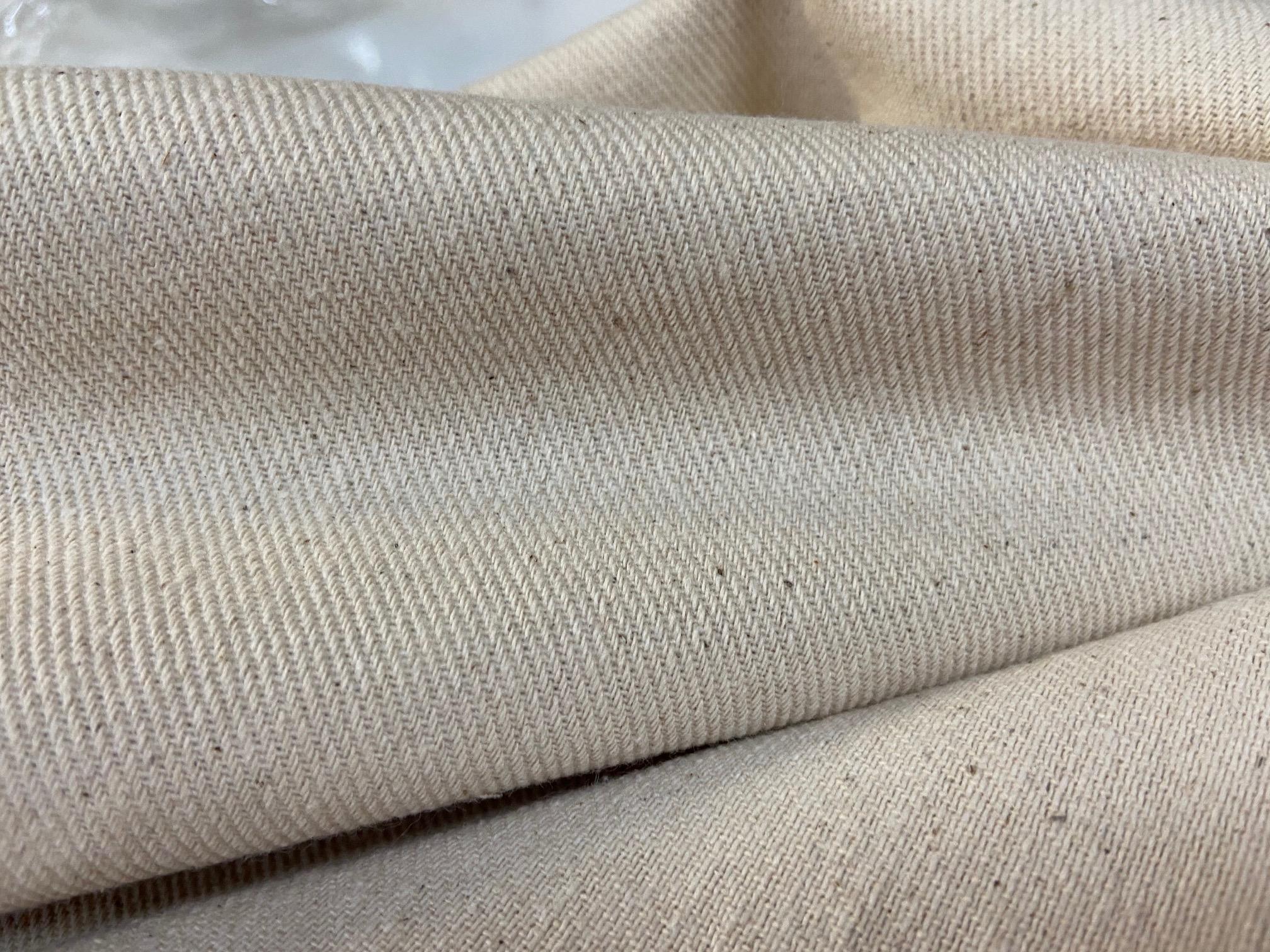 Kokvilnas audums, 300 g/m², nebalināts