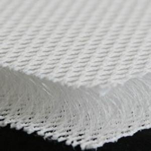 3D poliestera siets 20mm, balts. Pl. 220cm, bl. 800g/m²