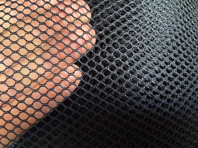 Mesh fabric, Black