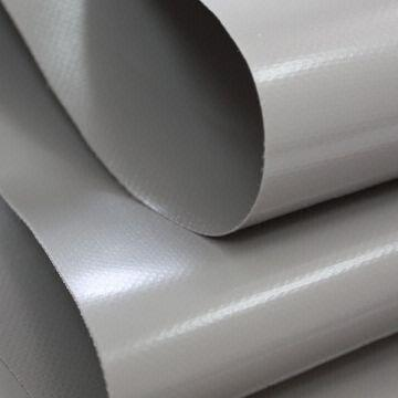 PVC tentu materiāls ( autotents), pelēkā krāsā